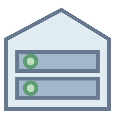 Root Server icon in Office S
