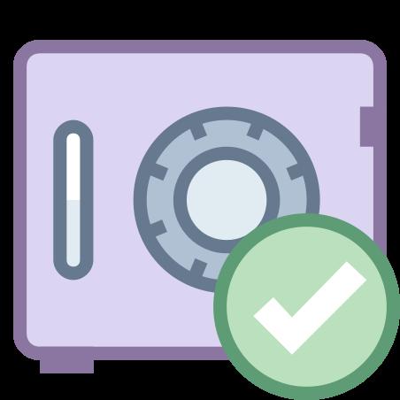 안전 확인 icon