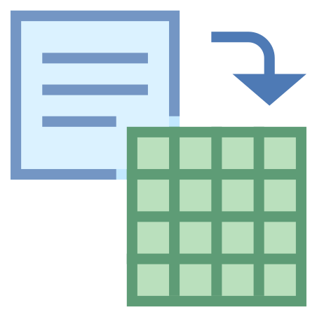 Save to Grid icon