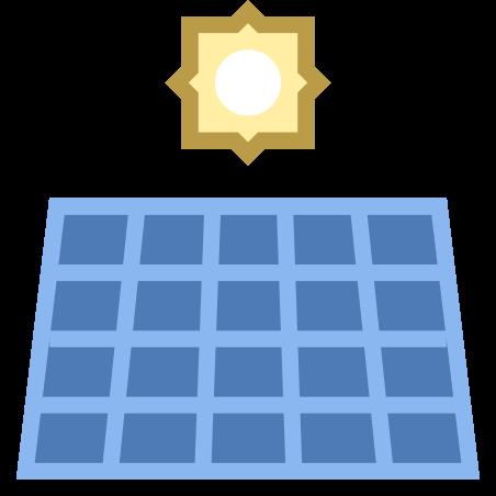 태양 전지 패널 icon in Office S