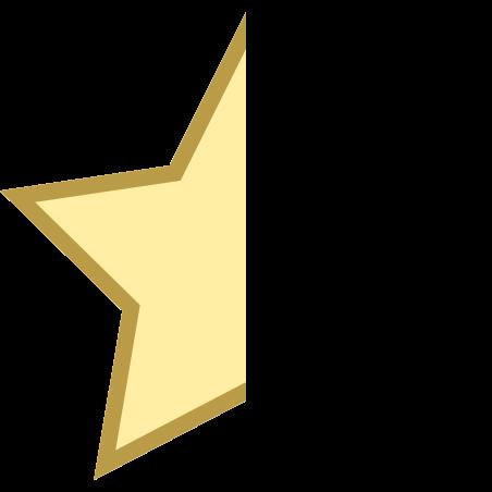 Star Half icon