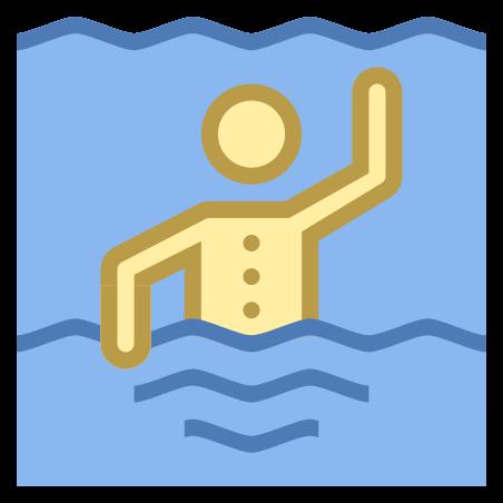 Vista natación de espalda icon