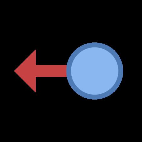 스 와이프 왼쪽 icon in Office S