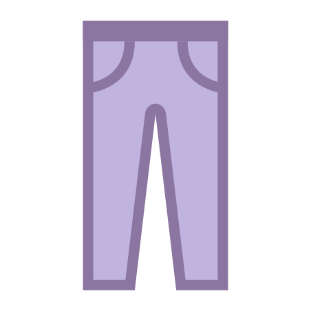 Trousers icon in Office S
