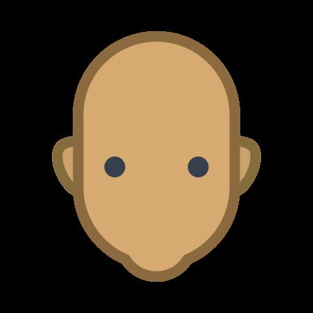 User Neutral Skin Type 5 icon