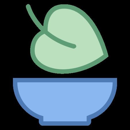 Alimentation vegan icon