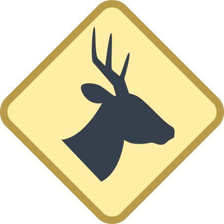 Wild Animals Sign icon in Office S