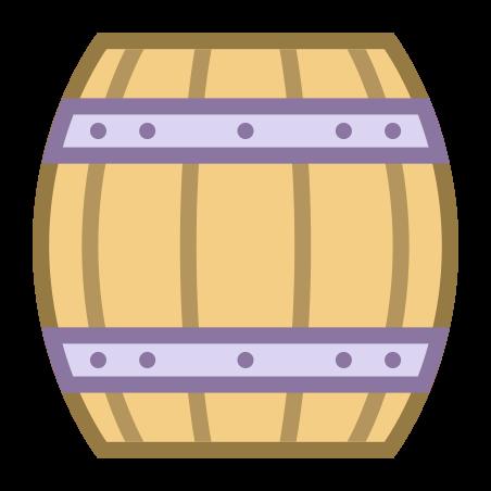나무 맥주 술통 icon