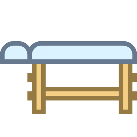 Wooden Massage Table icon
