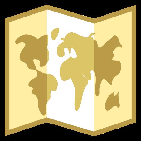 세계지도 icon