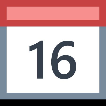달력 (16) icon in Office XS