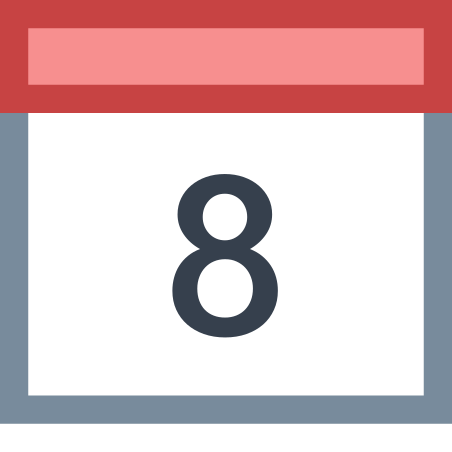 Calendar 8 icon