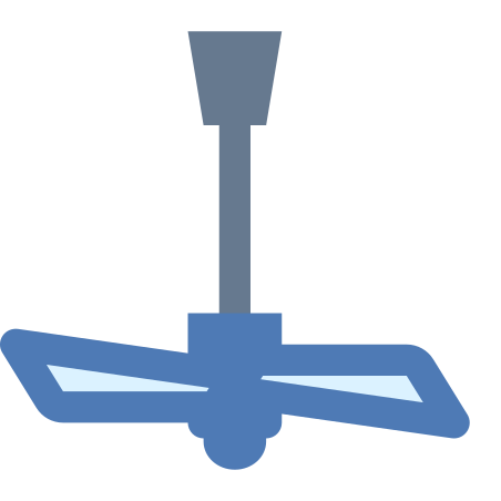 Ceiling Fan off icon