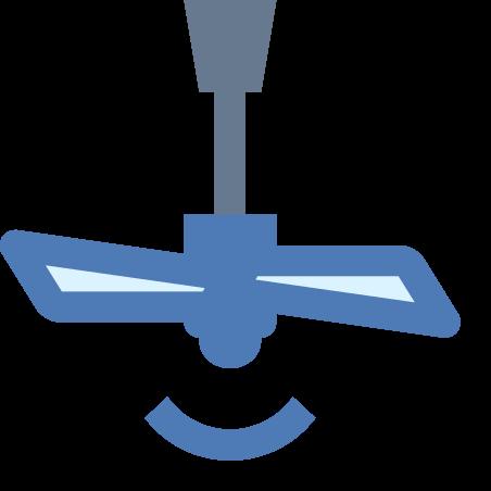 Ceiling Fan on icon