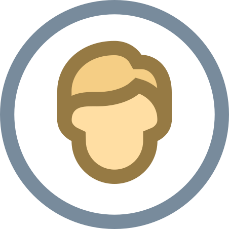 Circled User Male Skin Type 3 icon