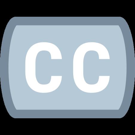 자막 icon in Office XS