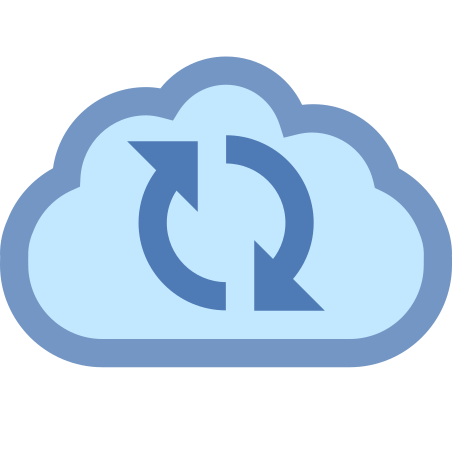 Cloud Sync icon in Office XS
