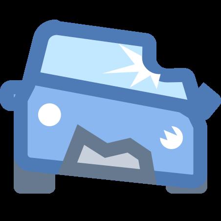 Crashed Car icon
