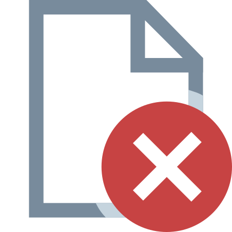 Delete File icon