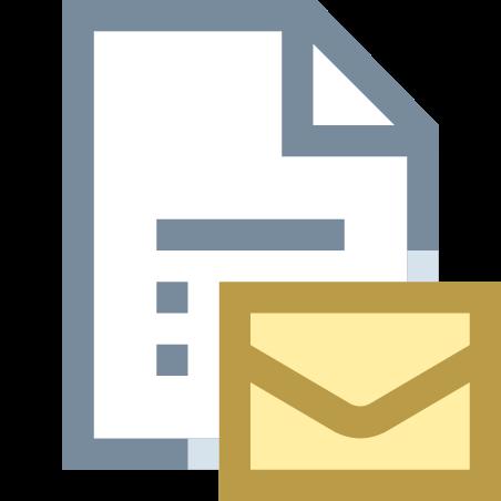 이메일 문서 icon