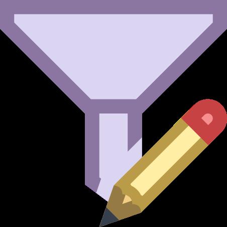 Filter Edit icon