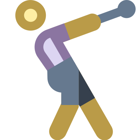 Hammer Throw icon in Office XS