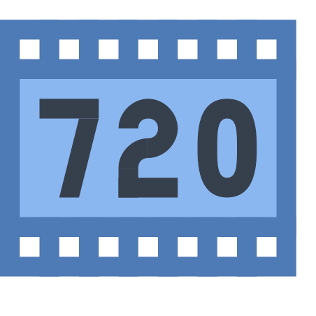 HD 720p icon in Office XS
