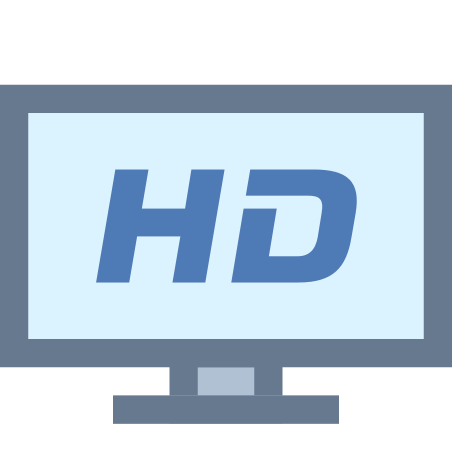 HDTV icon in Office XS