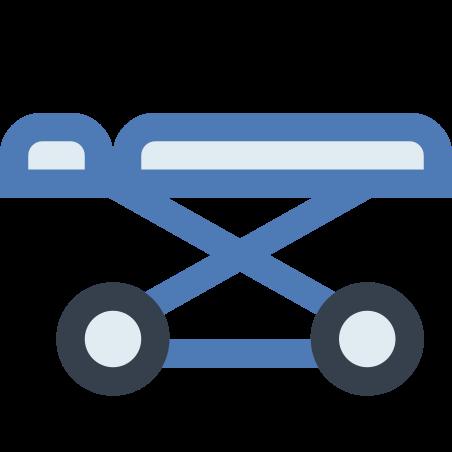 Hospital Wheel Bed icon