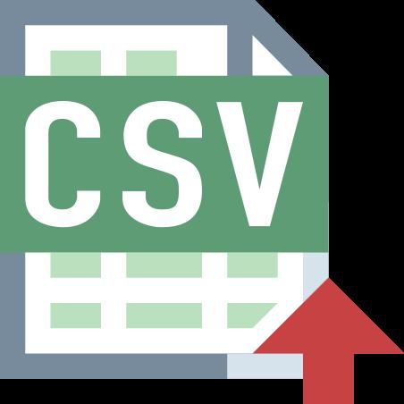 가져 오기 CSV icon