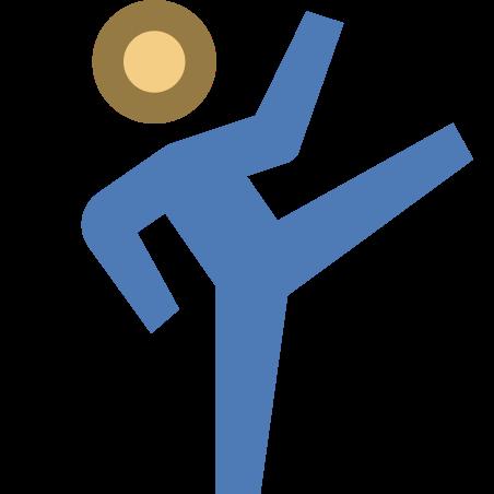 Kicking icon