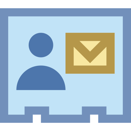Mail Contact icon