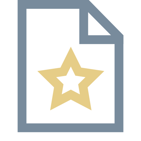 Mark As Favorite icon