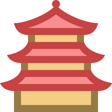 Pagoda icon in Office XS