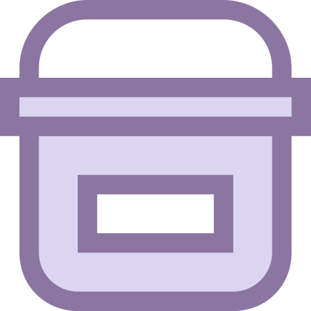 Paint Bucket With Label icon
