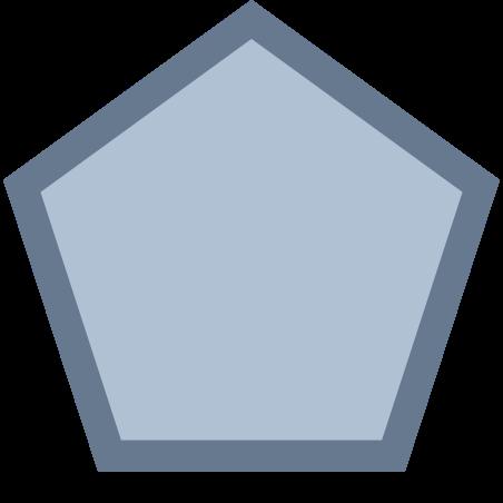 五角形 icon