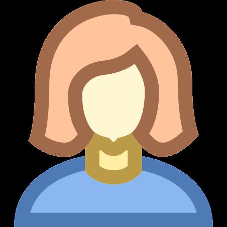 Person Female Skin Type 1 2 icon