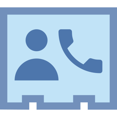 電話連絡 icon