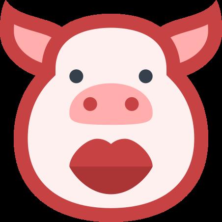 口紅と豚 icon