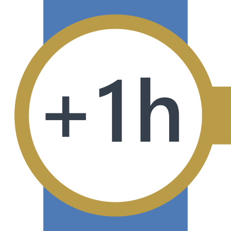 Plus 1 Hour icon