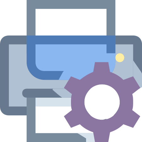 Printer Maintenance icon in Office XS