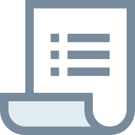 Purchase Order icon in Office XS