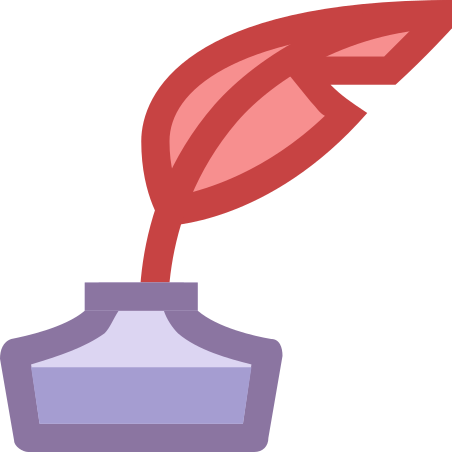 Quill With Ink icon