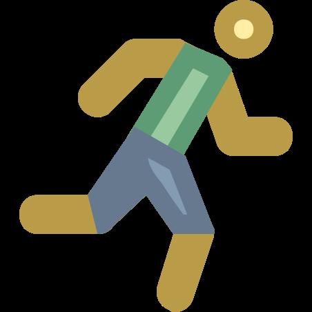 달리는 icon in Office XS