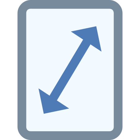 Screen Resolution icon in Office XS