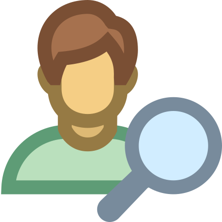 Search Client icon