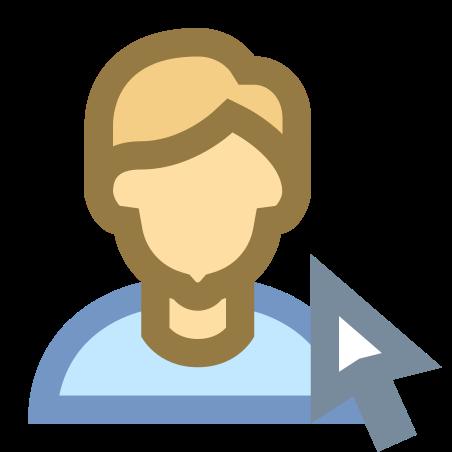 Sélectionner un utilisateur icon