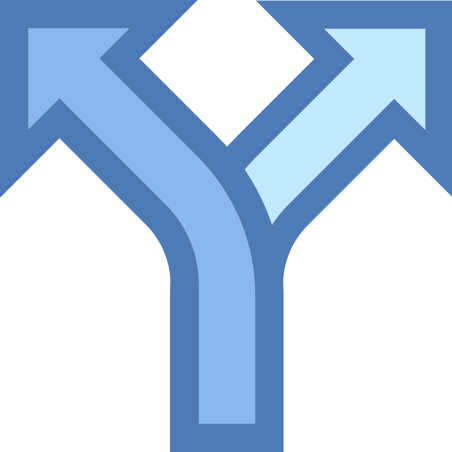 Split icon in Office XS