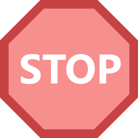 Stop Sign icon in Office XS