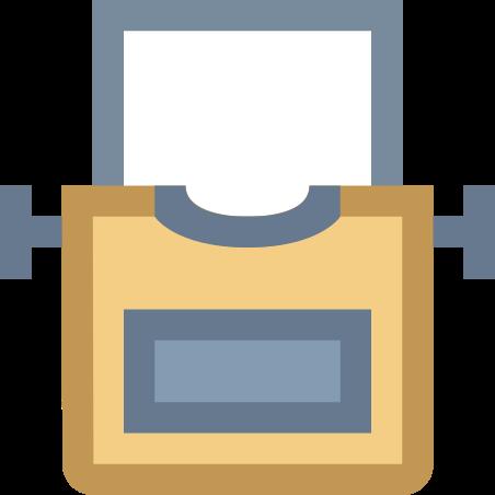 종이와 타자기 icon in Office XS